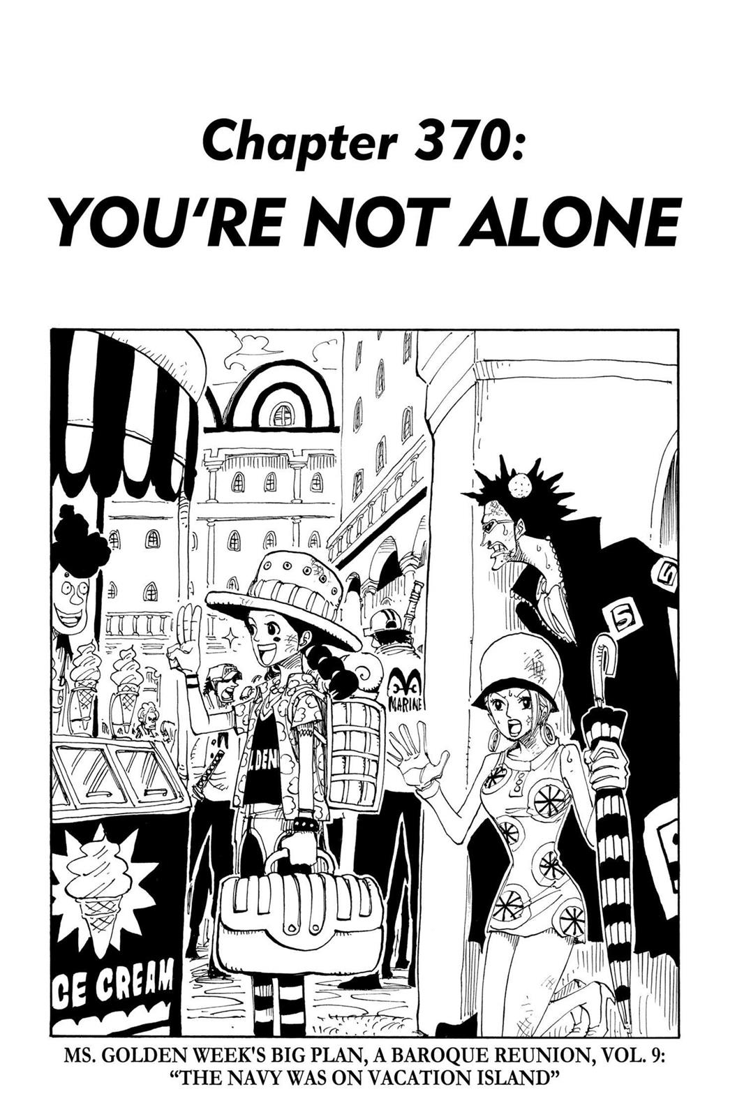One Piece, Chapter 370 image 001