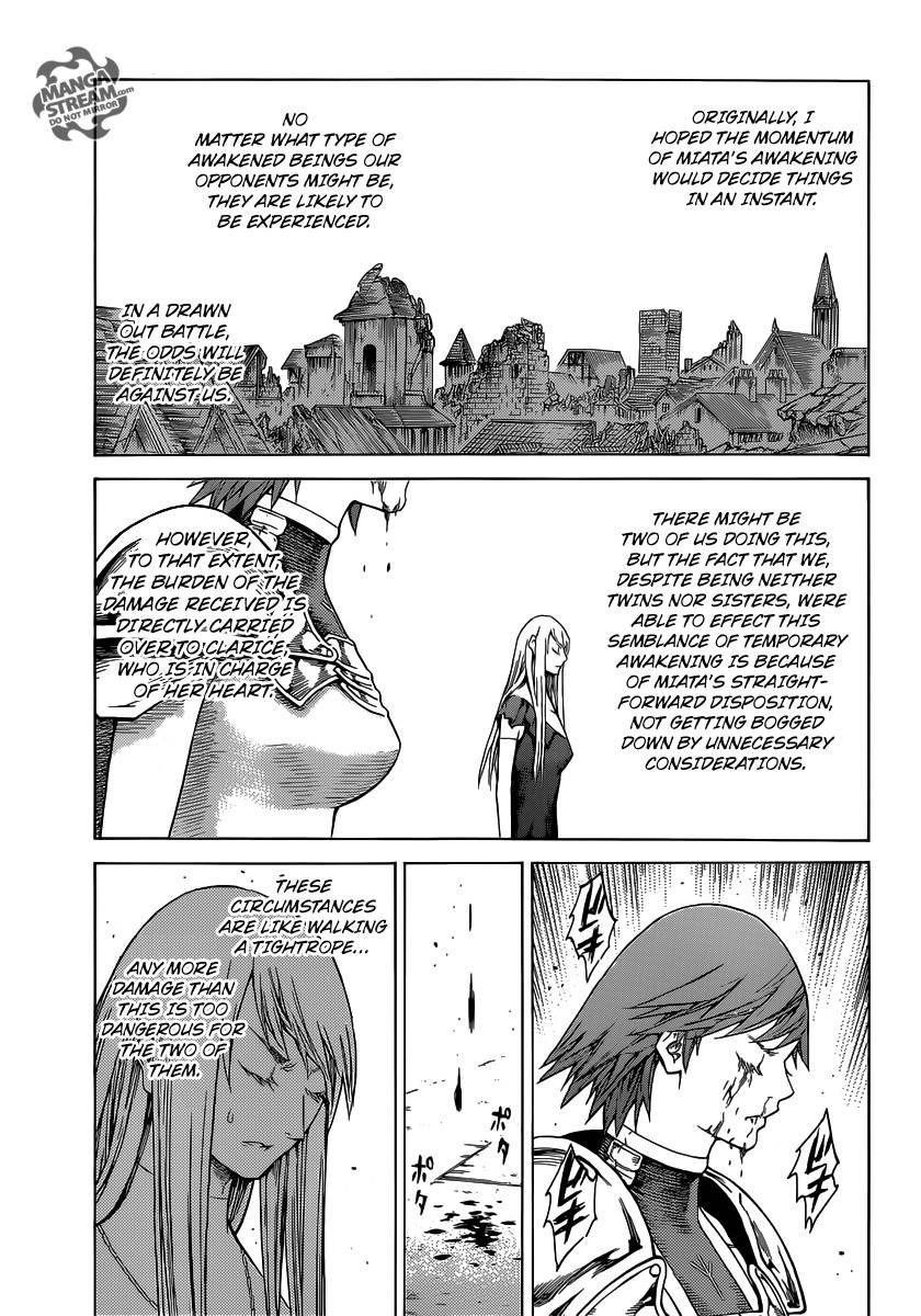 Claymore, Chapter 141 image 015