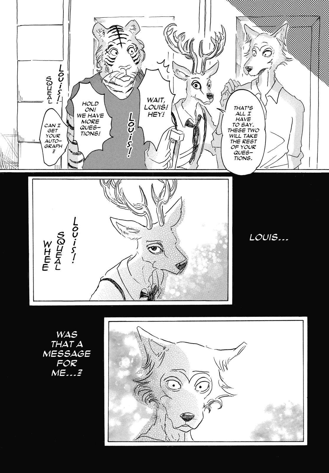 Beastars Manga, Chapter 17 image 017