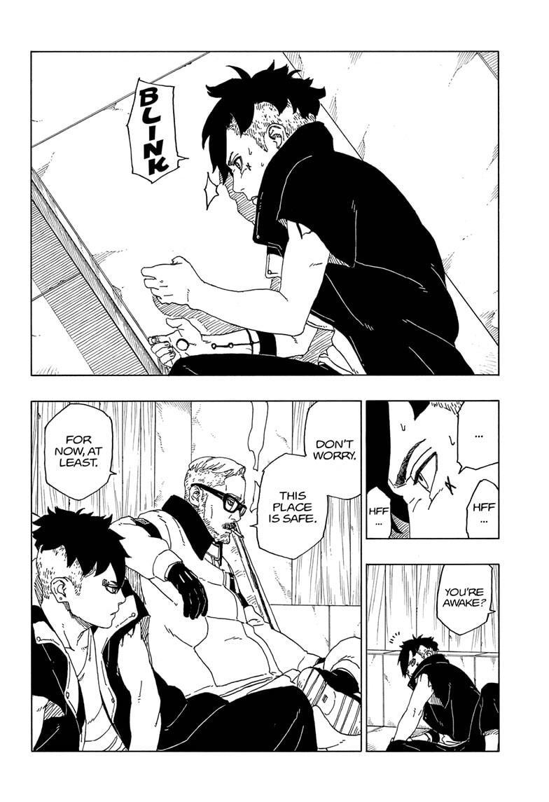 Boruto Manga, Chapter 50 image 012
