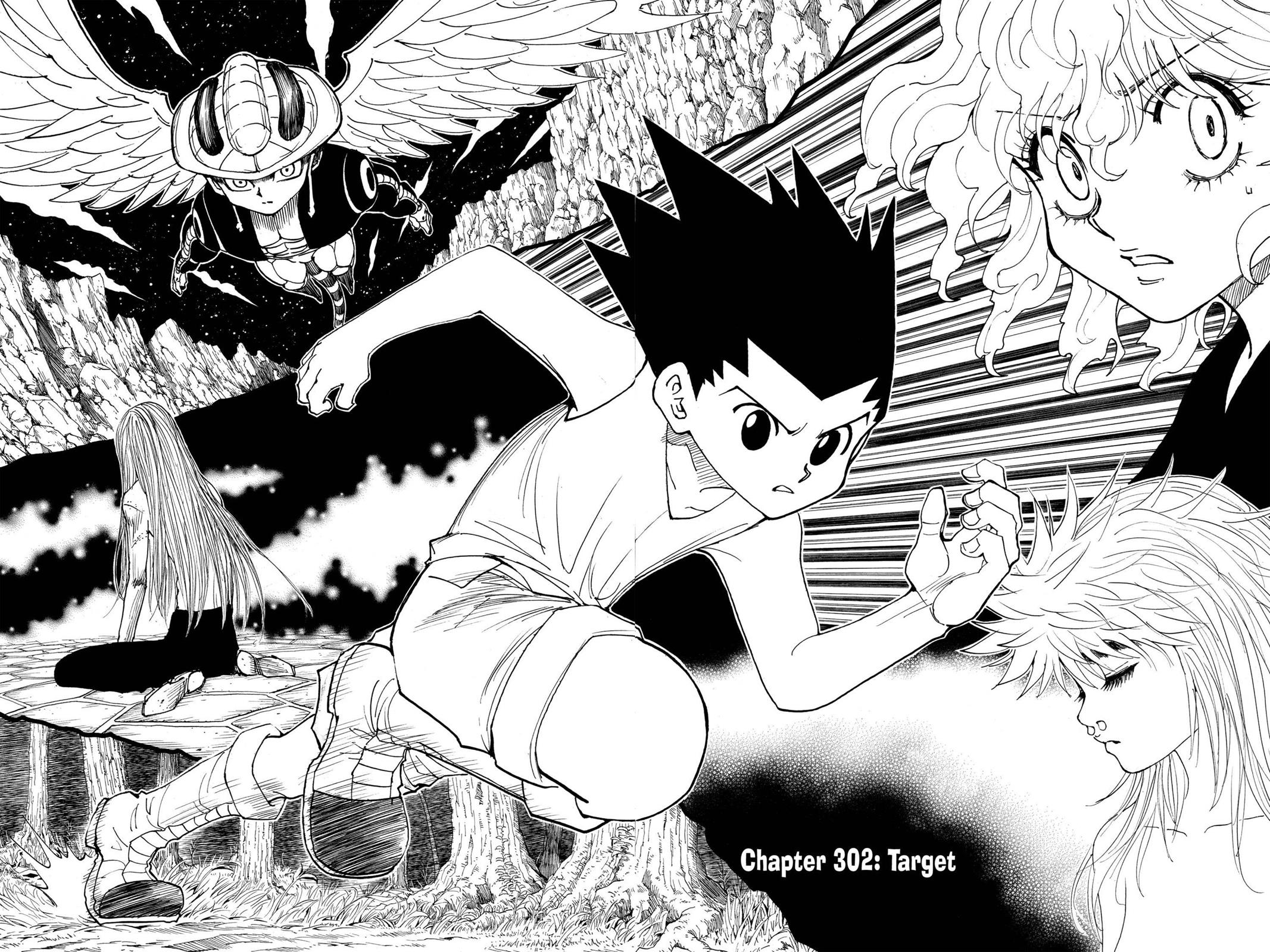 Hunter X Hunter, Chapter 302 image 002
