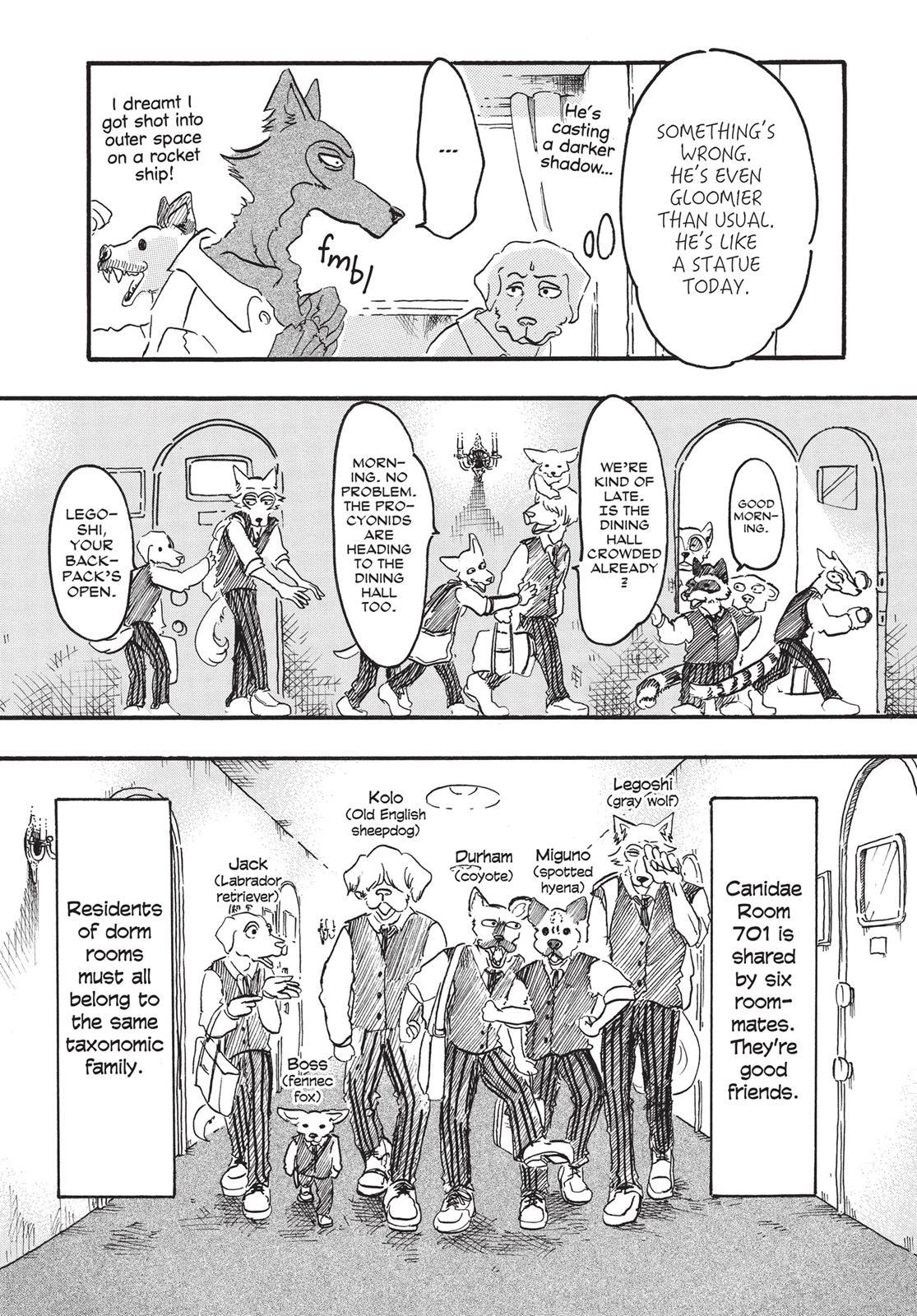 Beastars Manga, Chapter 6 image 005