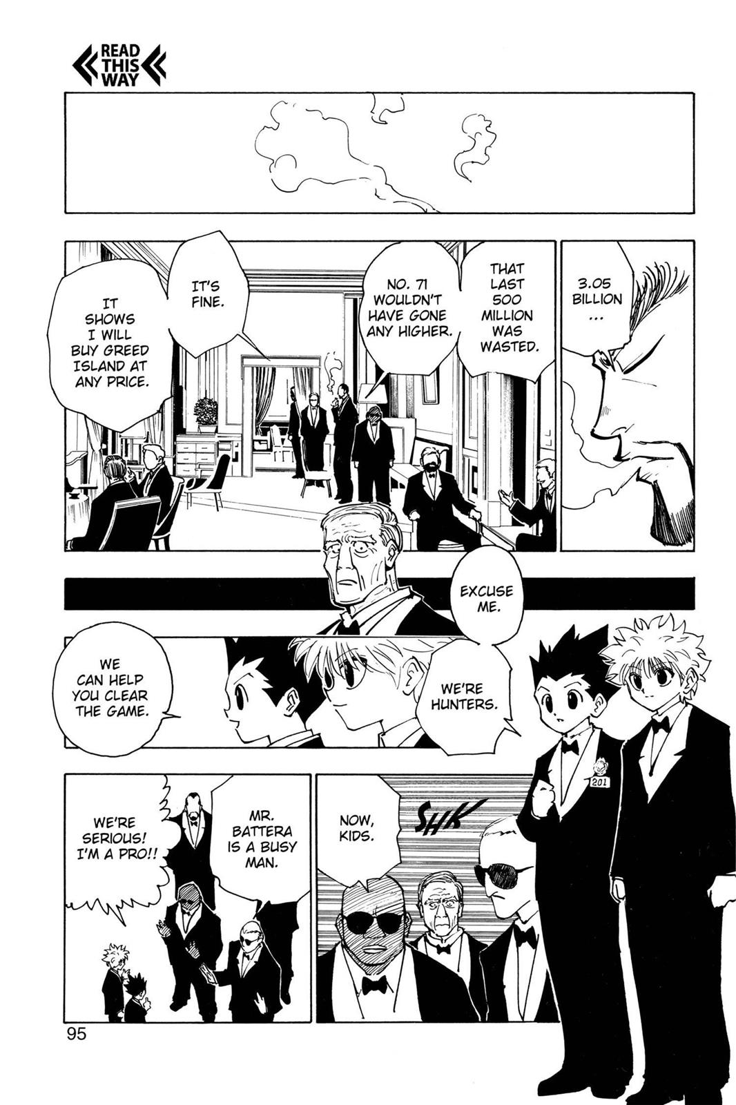 Hunter X Hunter, Chapter 121 image 011