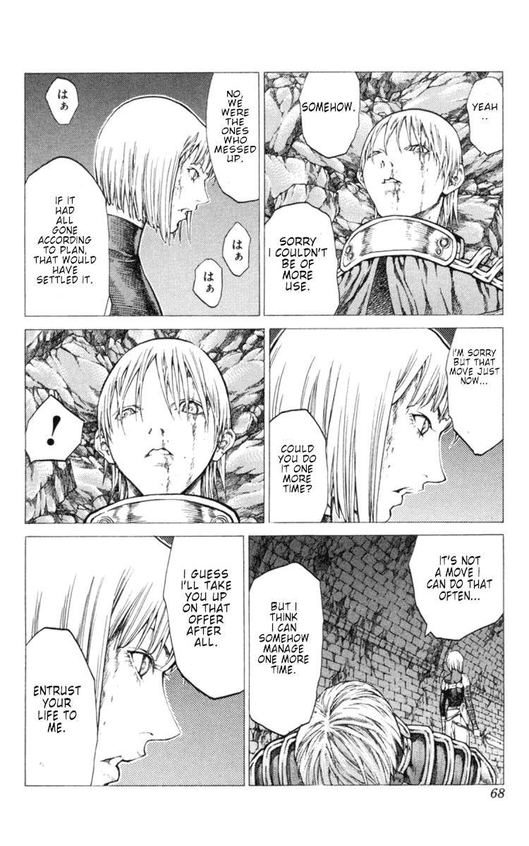 Claymore, Chapter 47 image 029