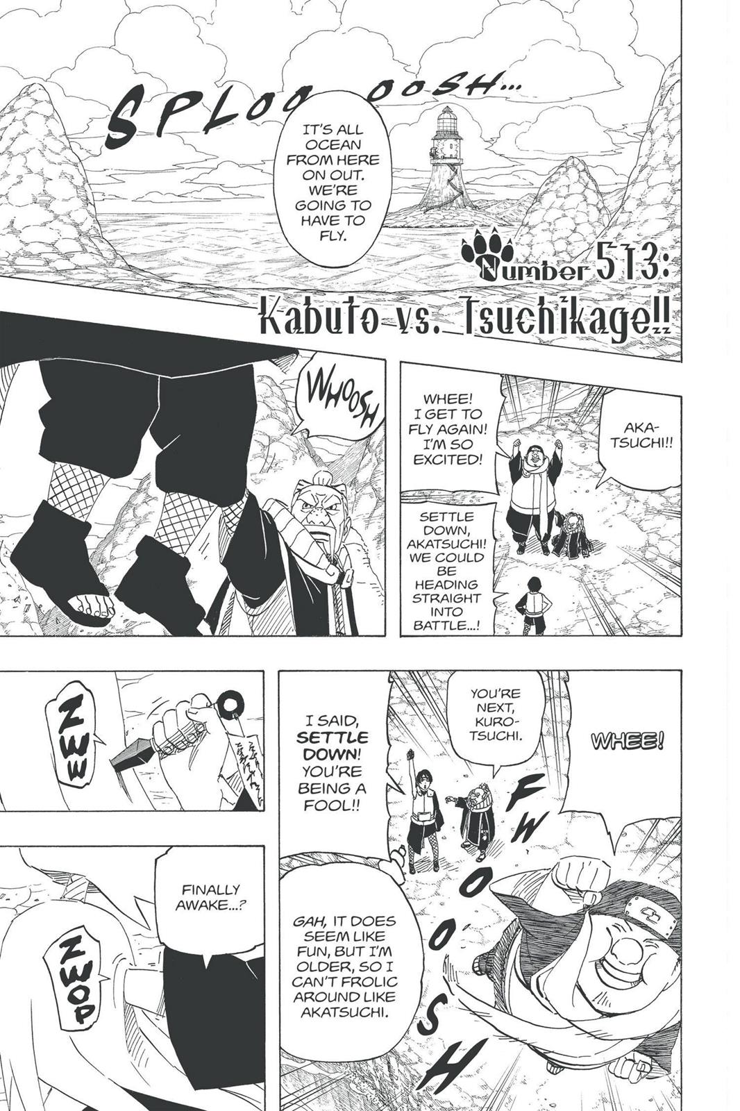 Naruto, Chapter 513 image 001