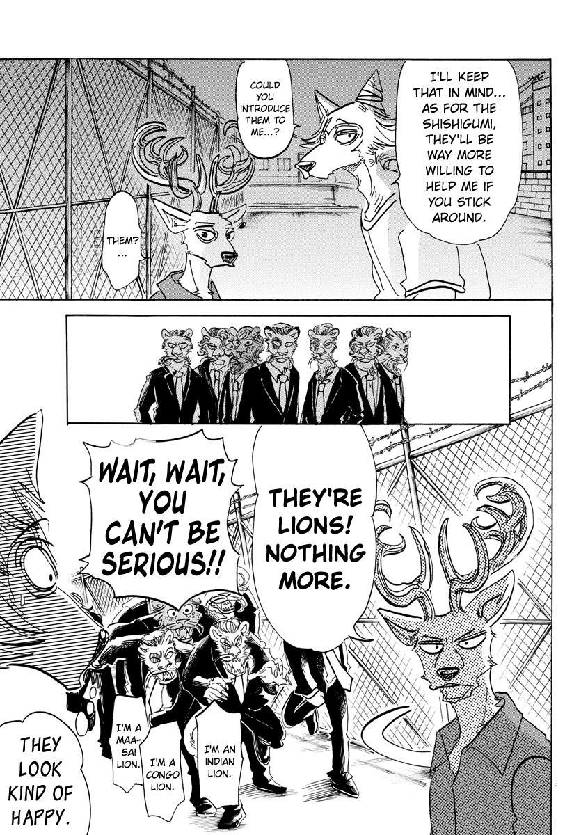 Beastars Manga, Chapter 144 image 004
