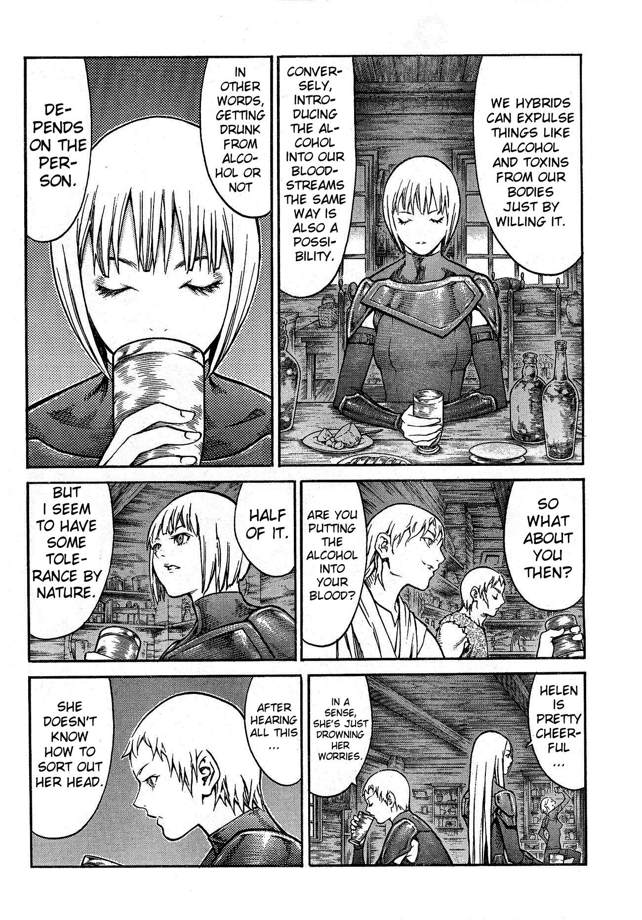 Claymore, Chapter 80 image 011