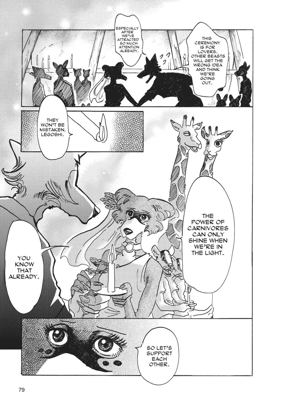 Beastars Manga, Chapter 47 image 011