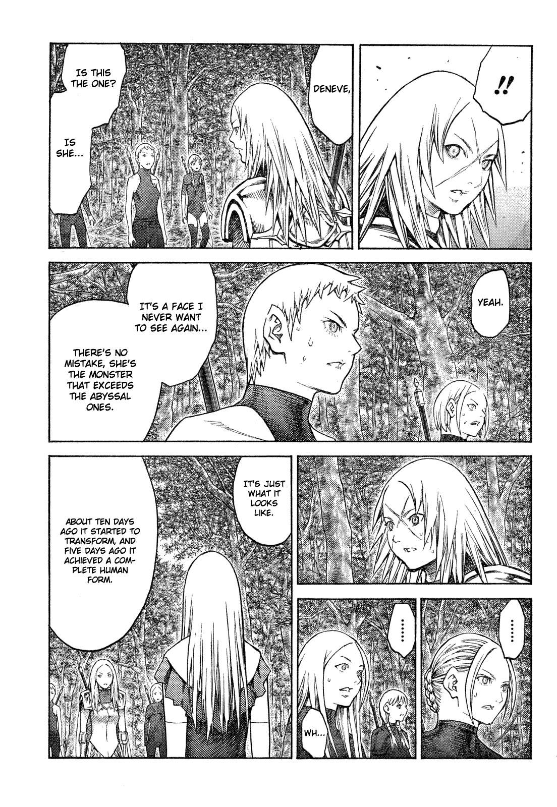 Claymore, Chapter 128 image 019