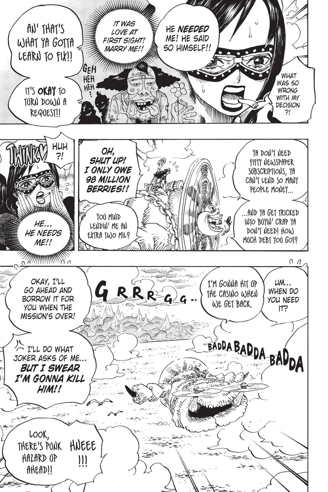 One Piece, Chapter 692 image 016