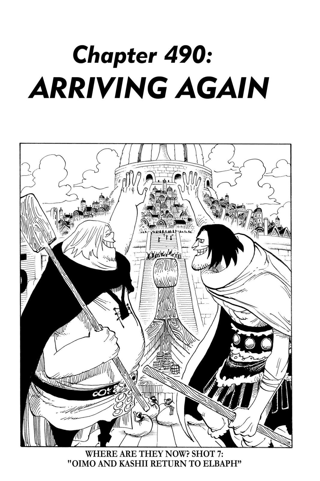 One Piece, Chapter 490 image 001