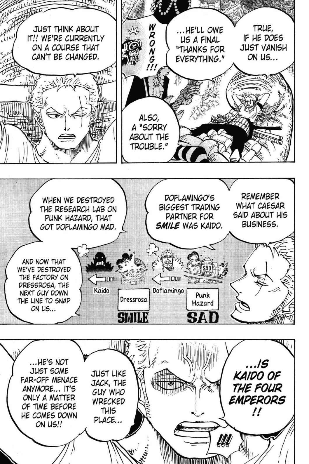 One Piece, Chapter 814 image 007