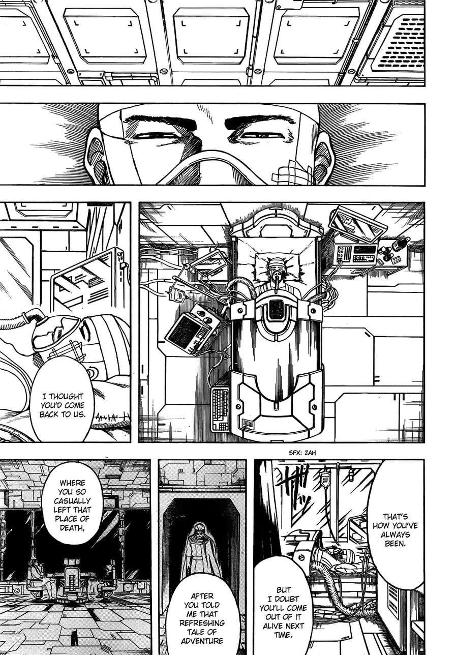 Gintama Chapter, 592 image 003