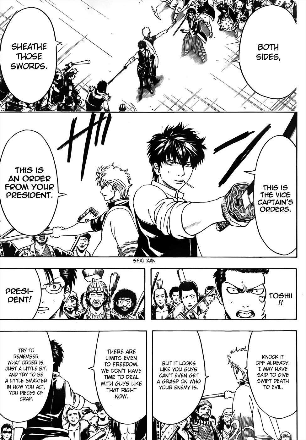 Gintama Chapter, 473 image 009