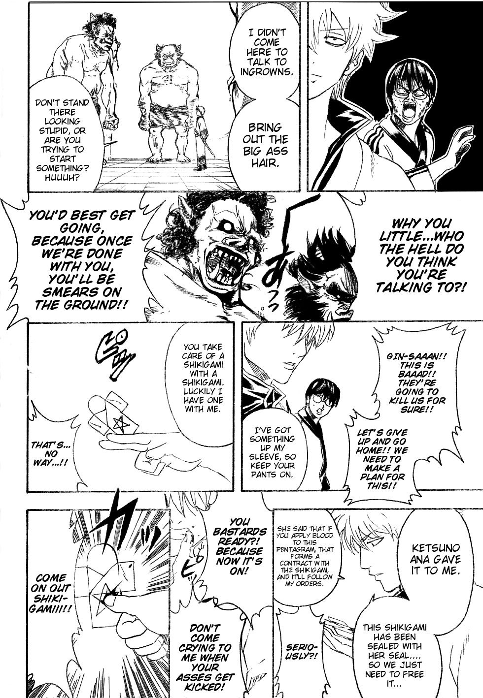 Gintama Chapter, 282 image 016