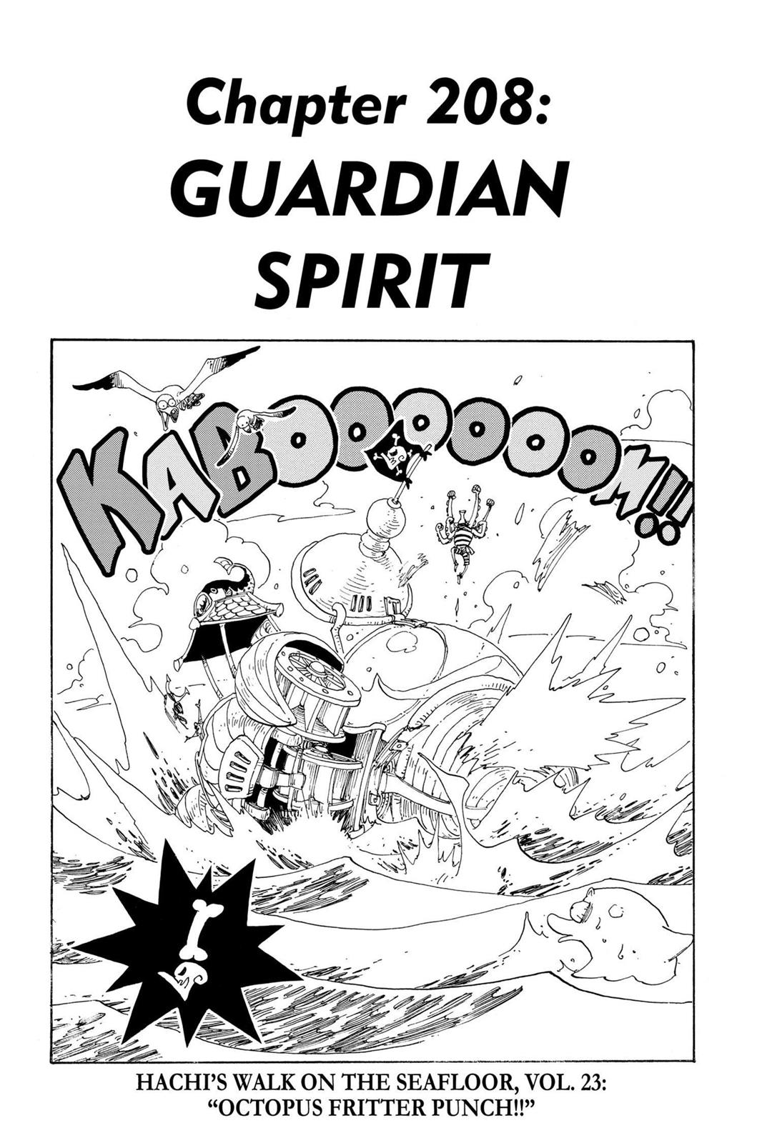 One Piece, Chapter 208 image 001