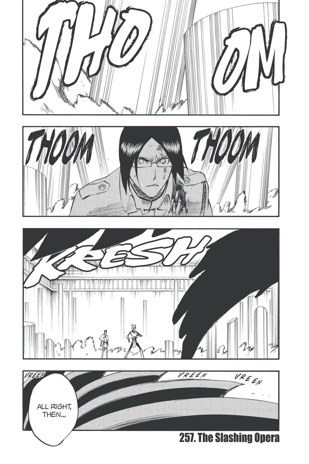 Bleach, Chapter 257 image 001