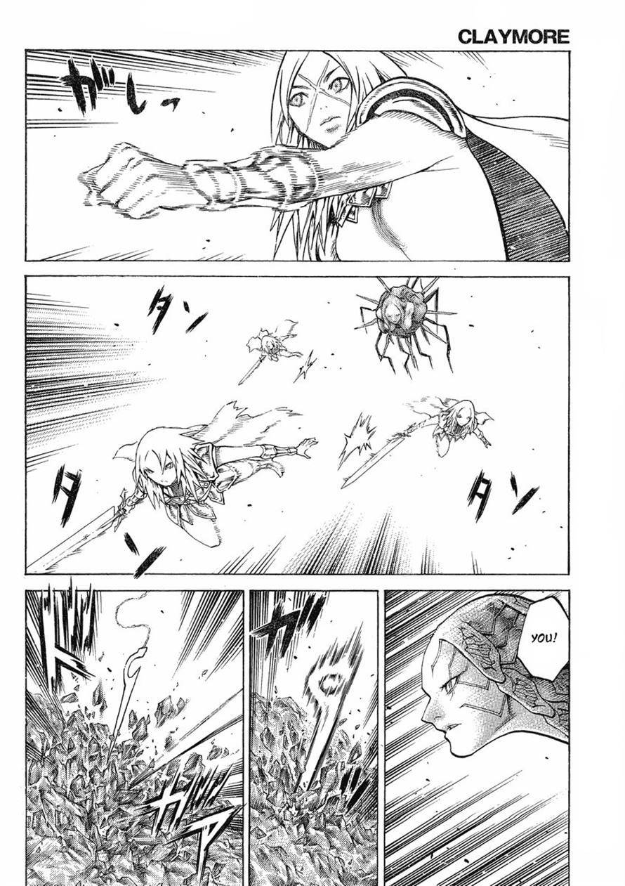 Claymore, Chapter 123 image 028