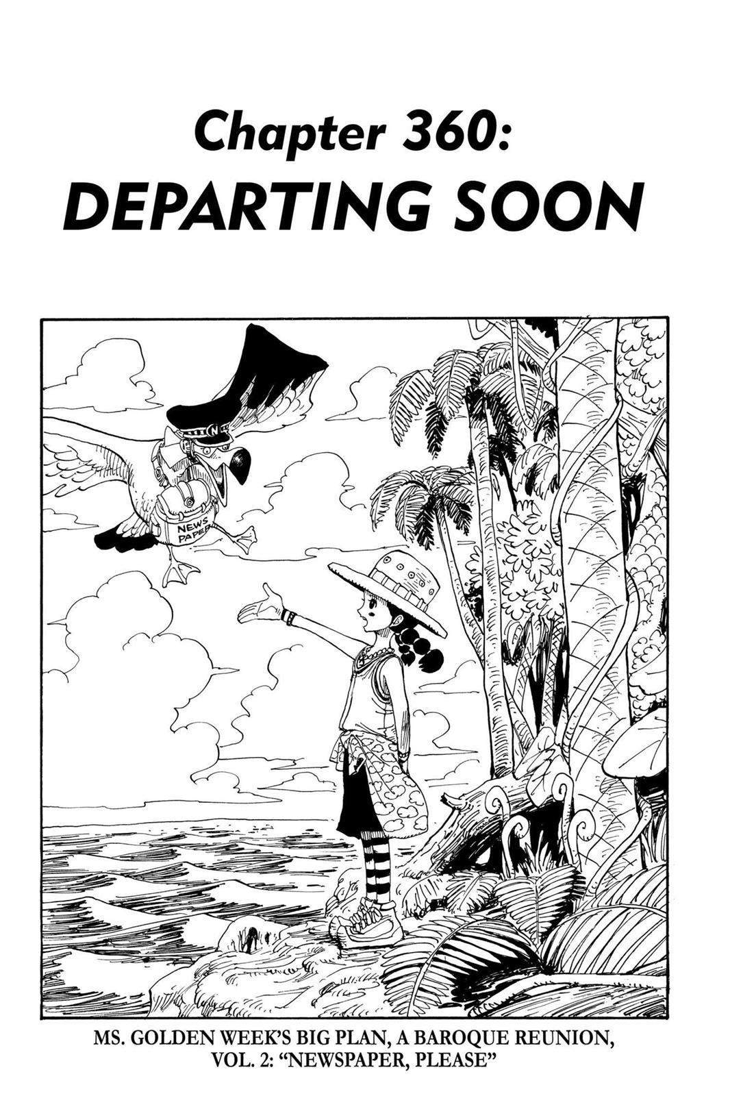 One Piece, Chapter 360 image 001