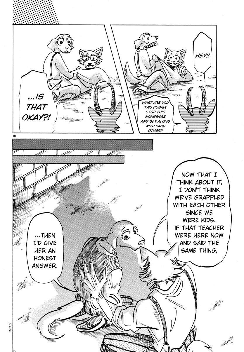 Beastars Manga, Chapter 153 image 017