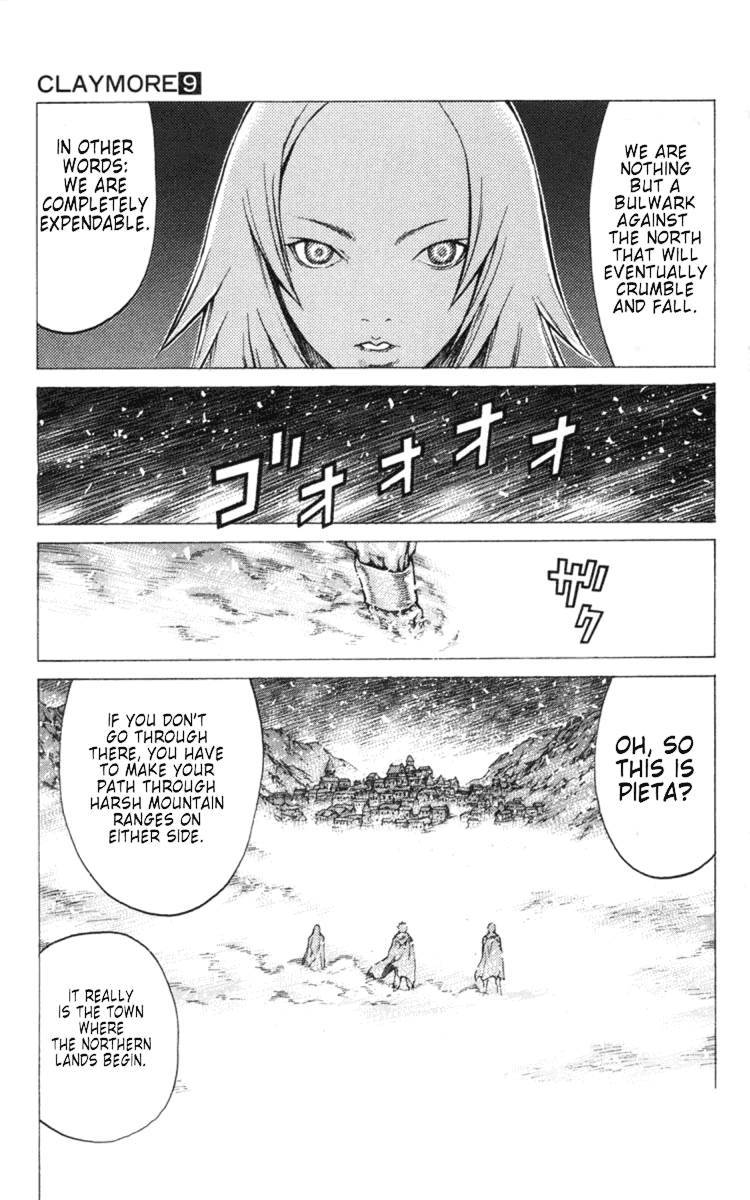 Claymore, Chapter 51 image 029