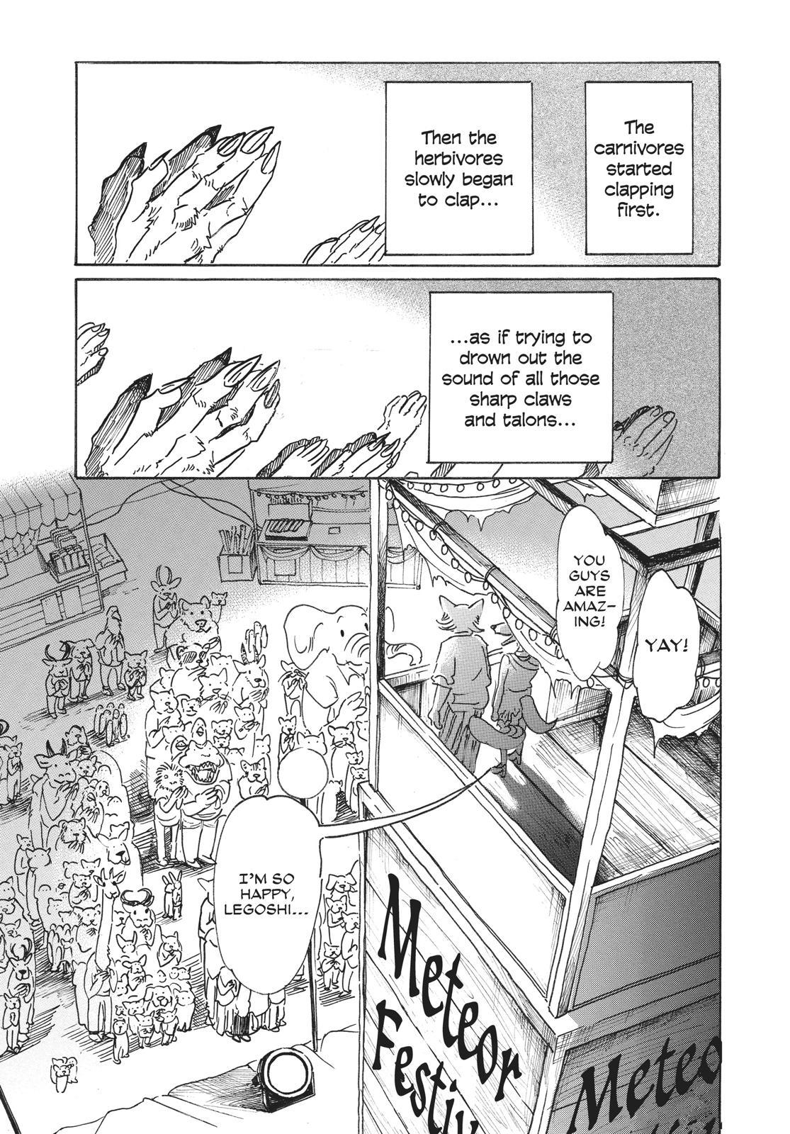 Beastars Manga, Chapter 47 image 009