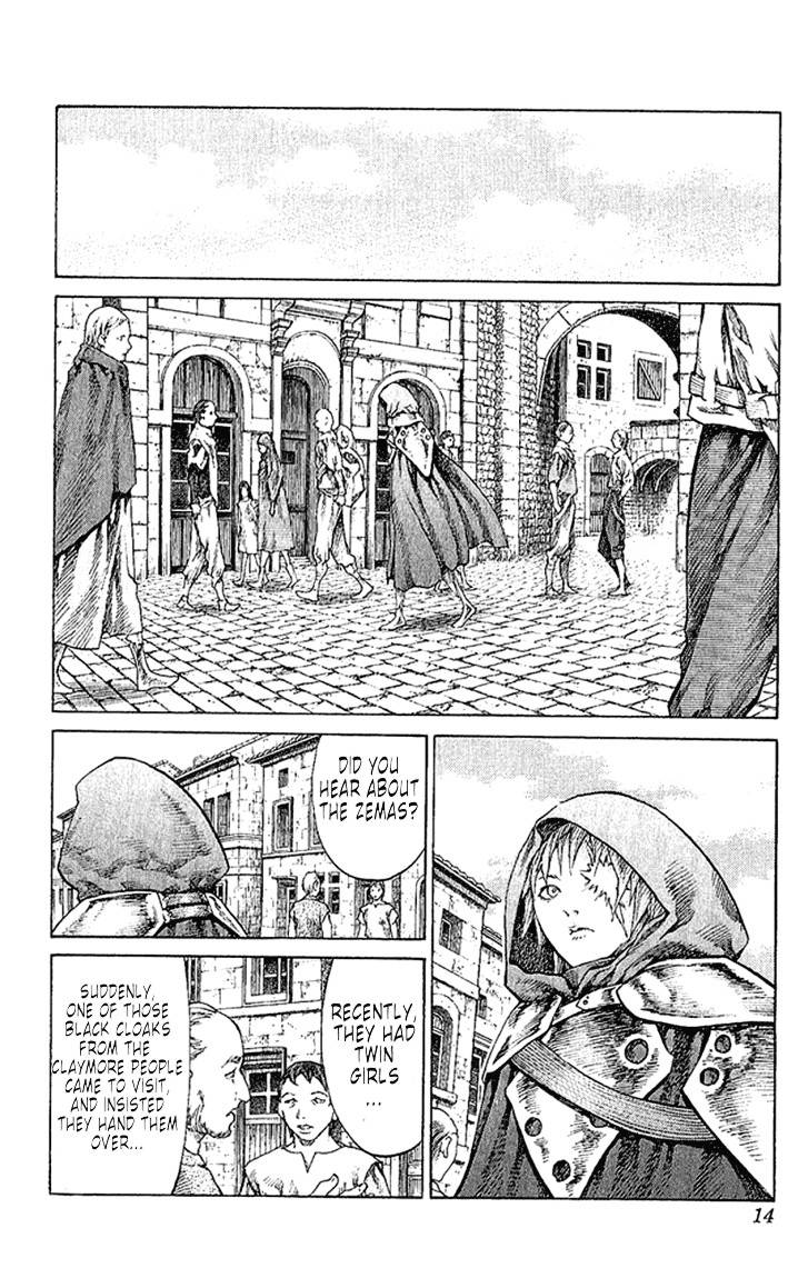 Claymore, Chapter 64 image 015