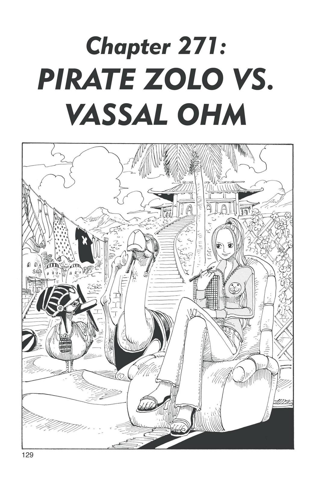 One Piece, Chapter 271 image 001