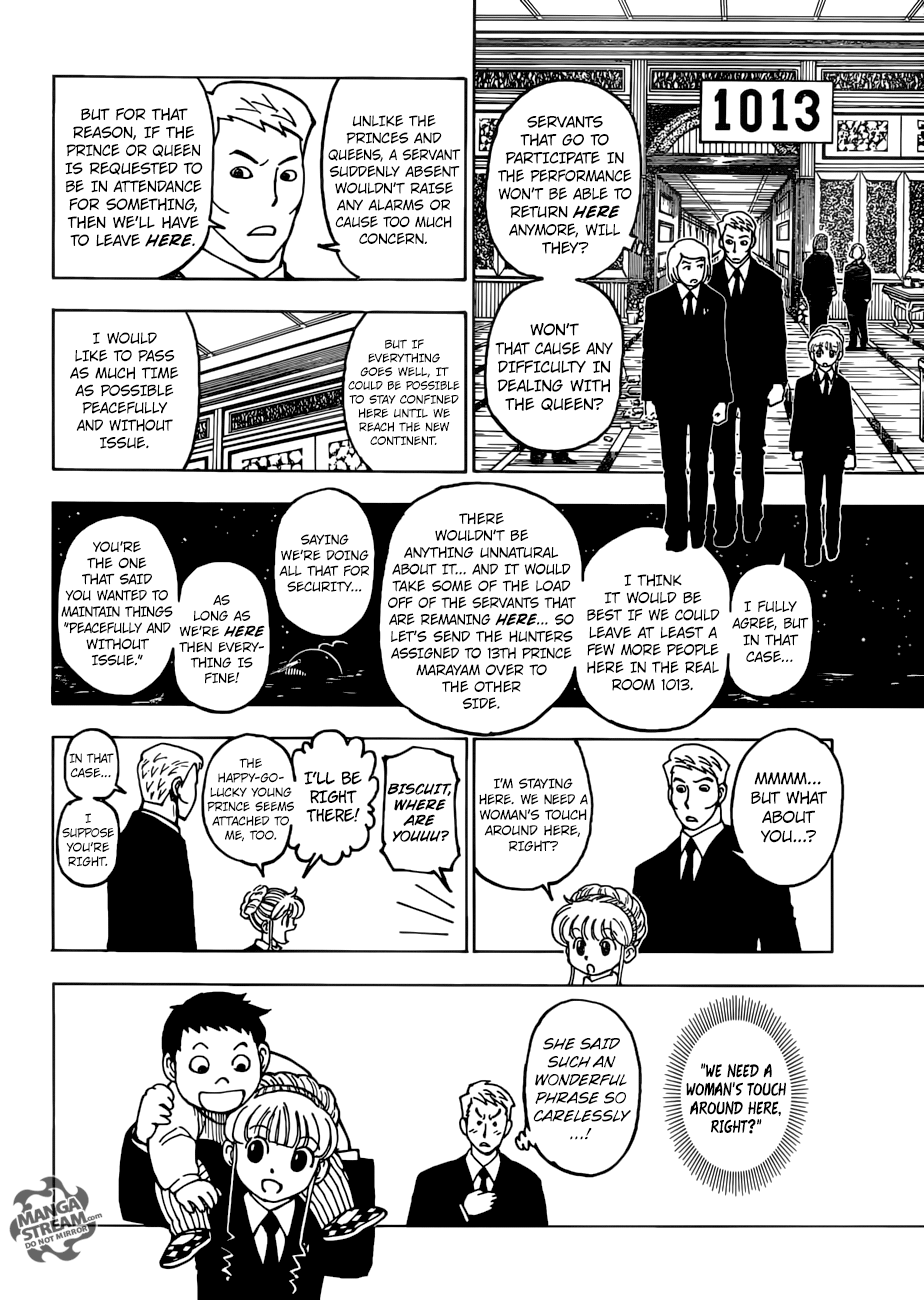 Hunter X Hunter, Chapter 383 image 005