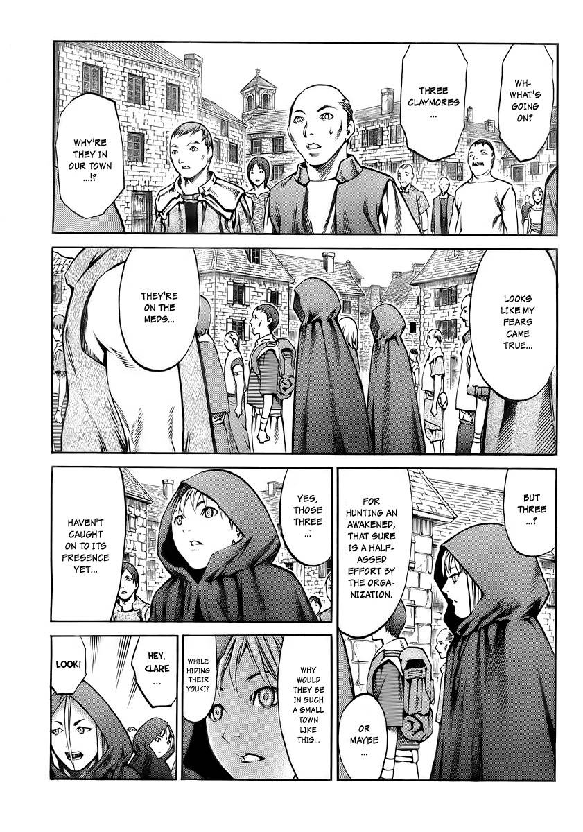 Claymore, Chapter 83 image 010