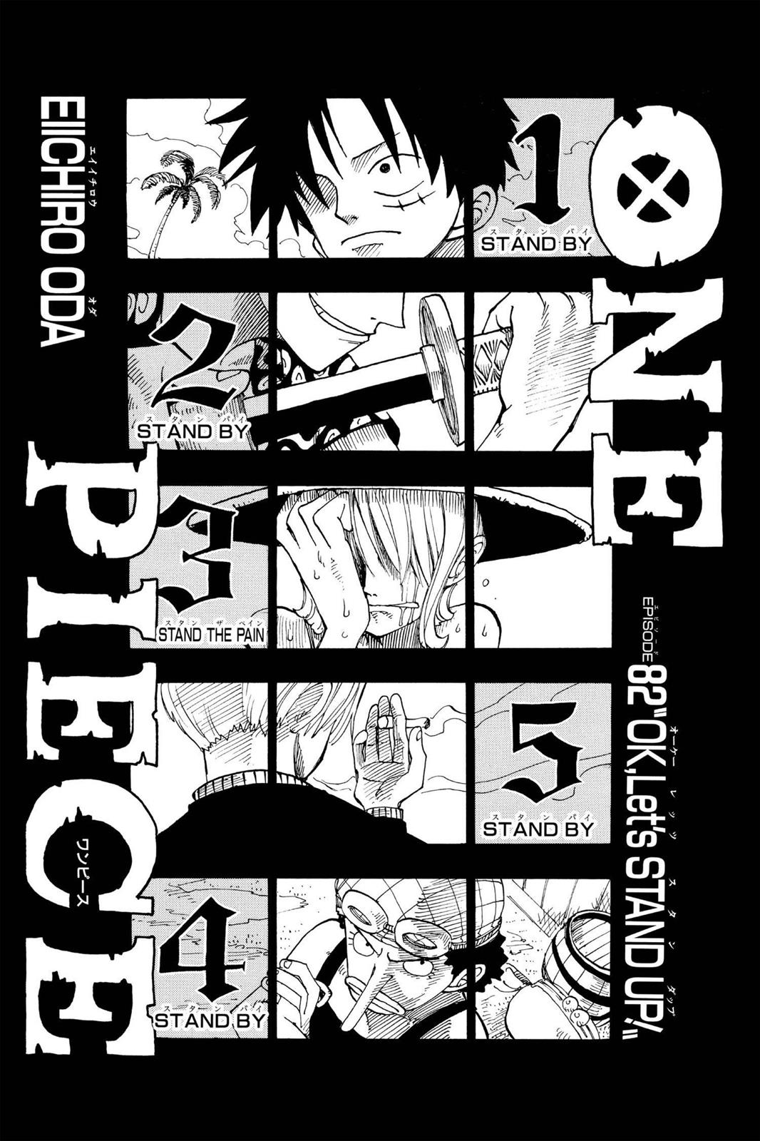 One Piece, Chapter 82 image 008