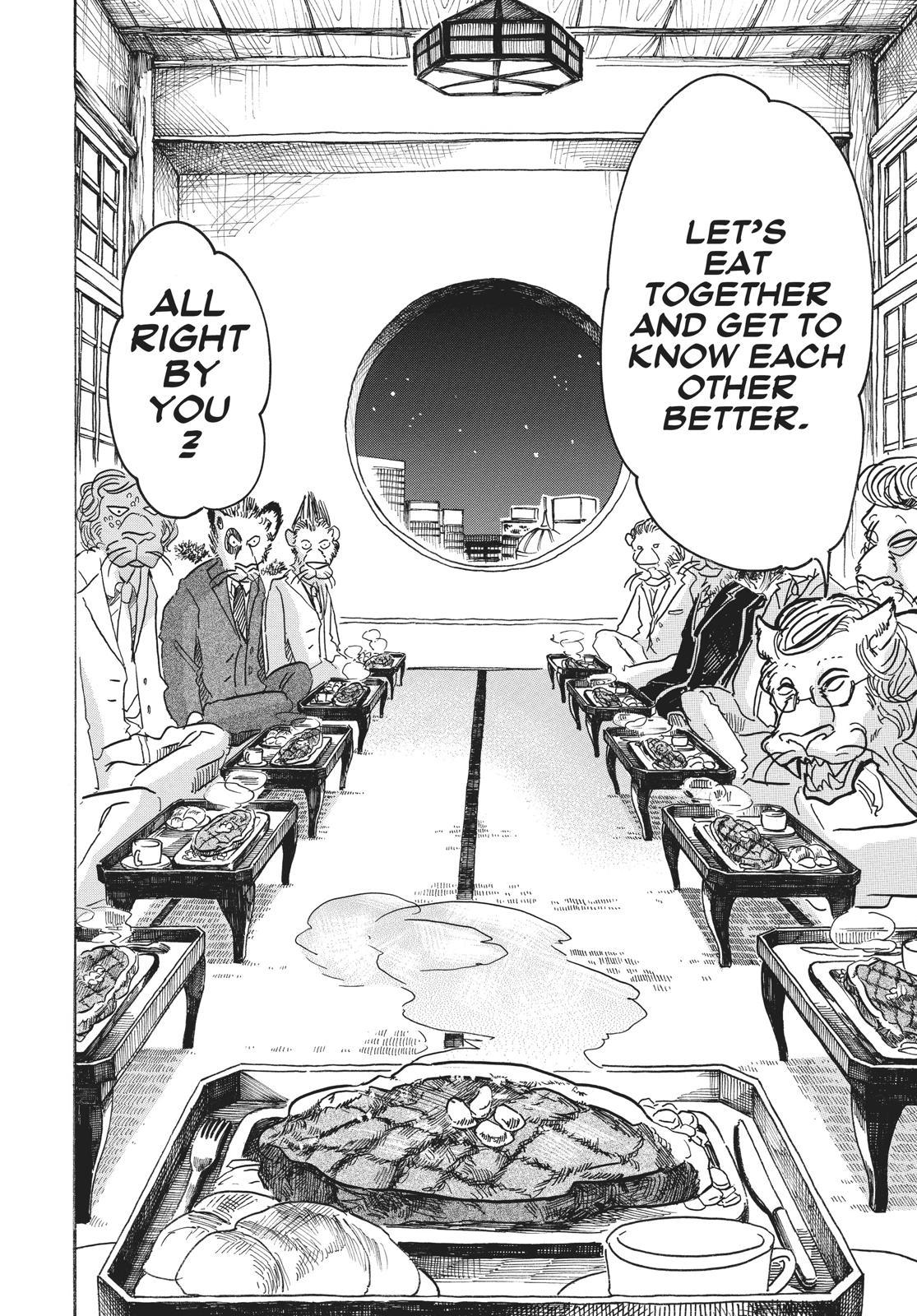 Beastars Manga, Chapter 51 image 014