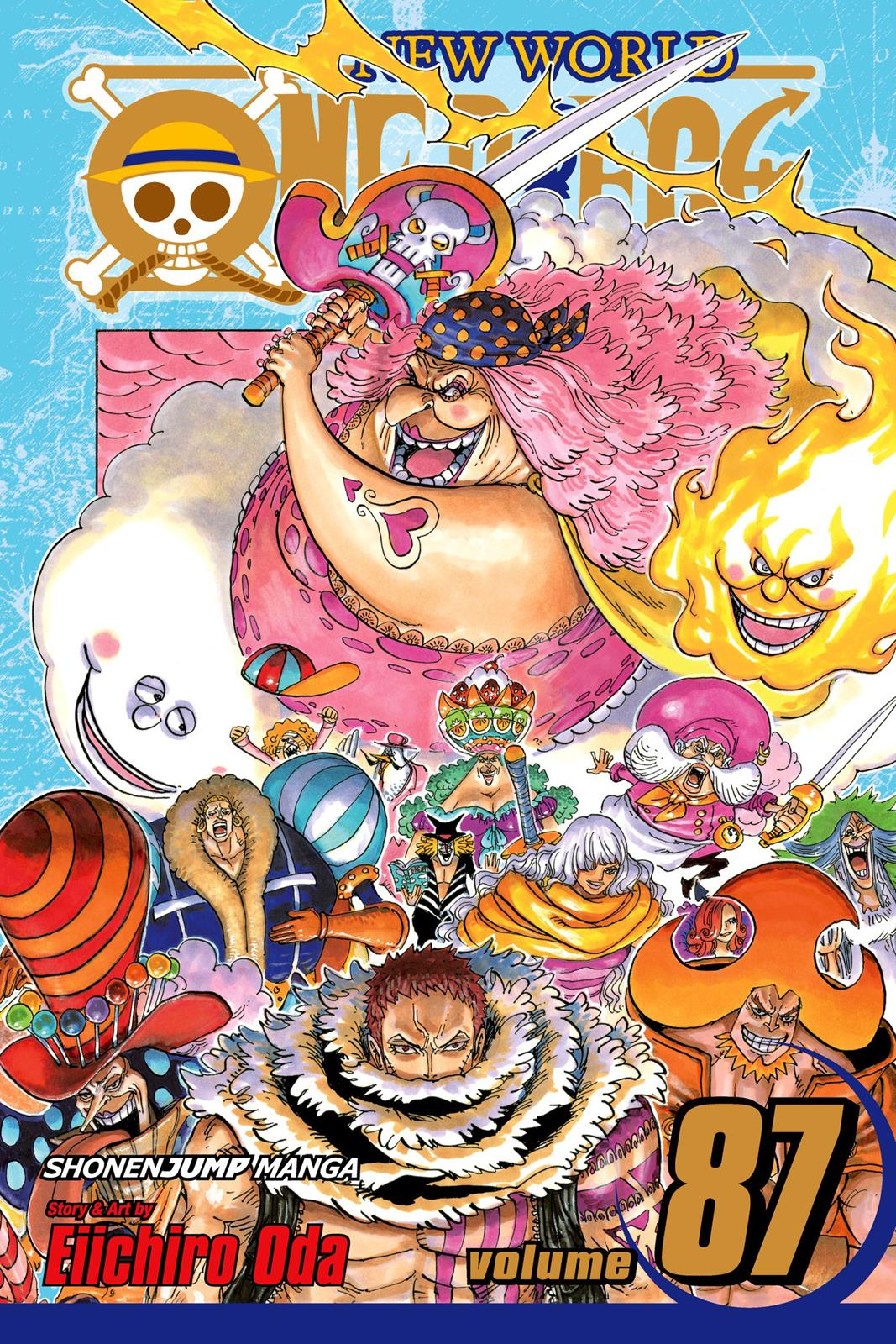 One Piece, Chapter 870 image 001