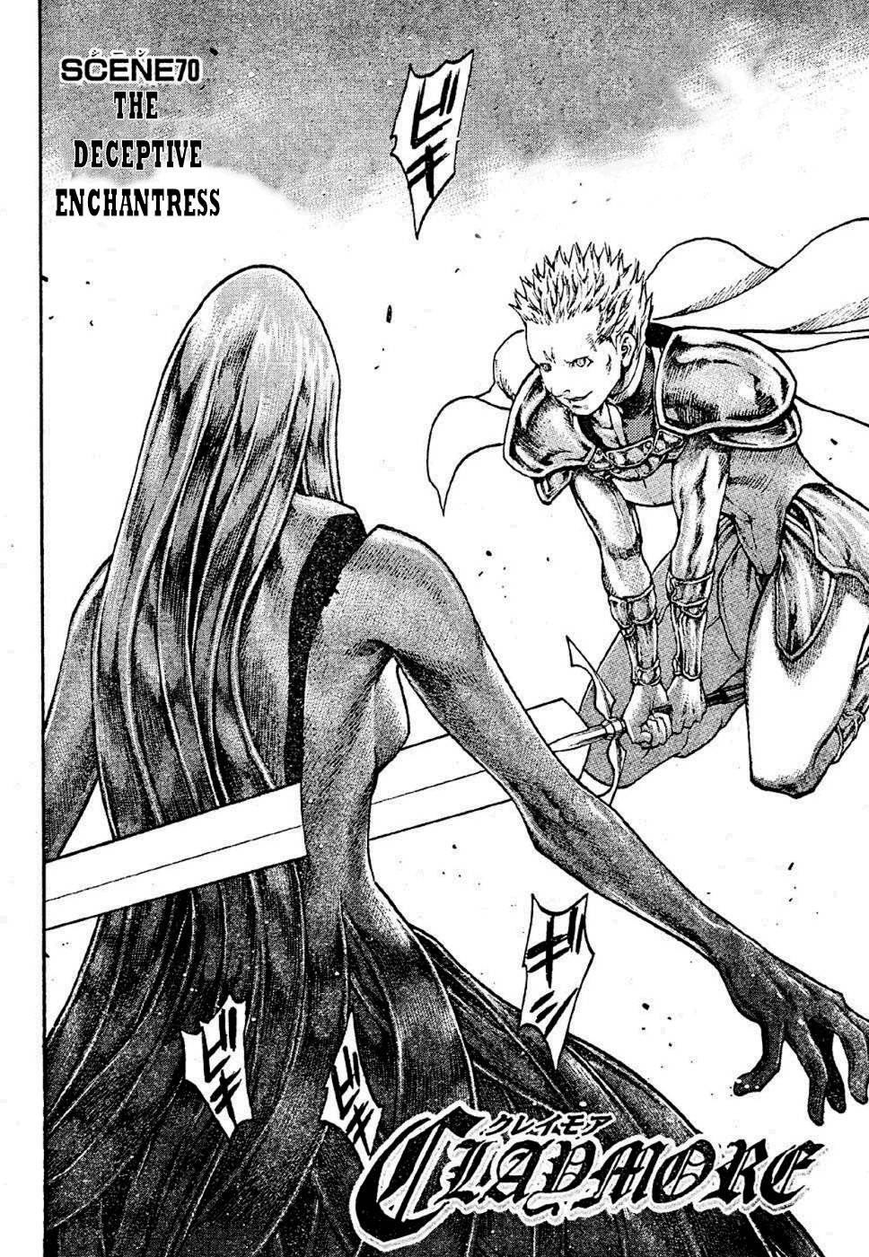 Claymore, Chapter 70 image 003