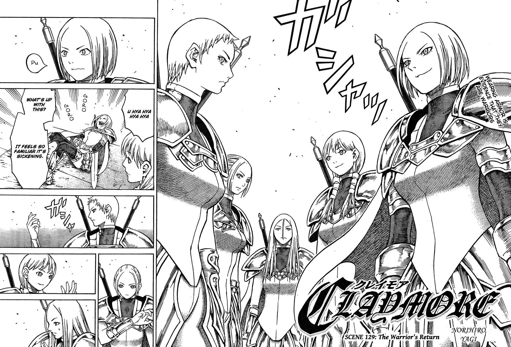 Claymore, Chapter 129 image 002
