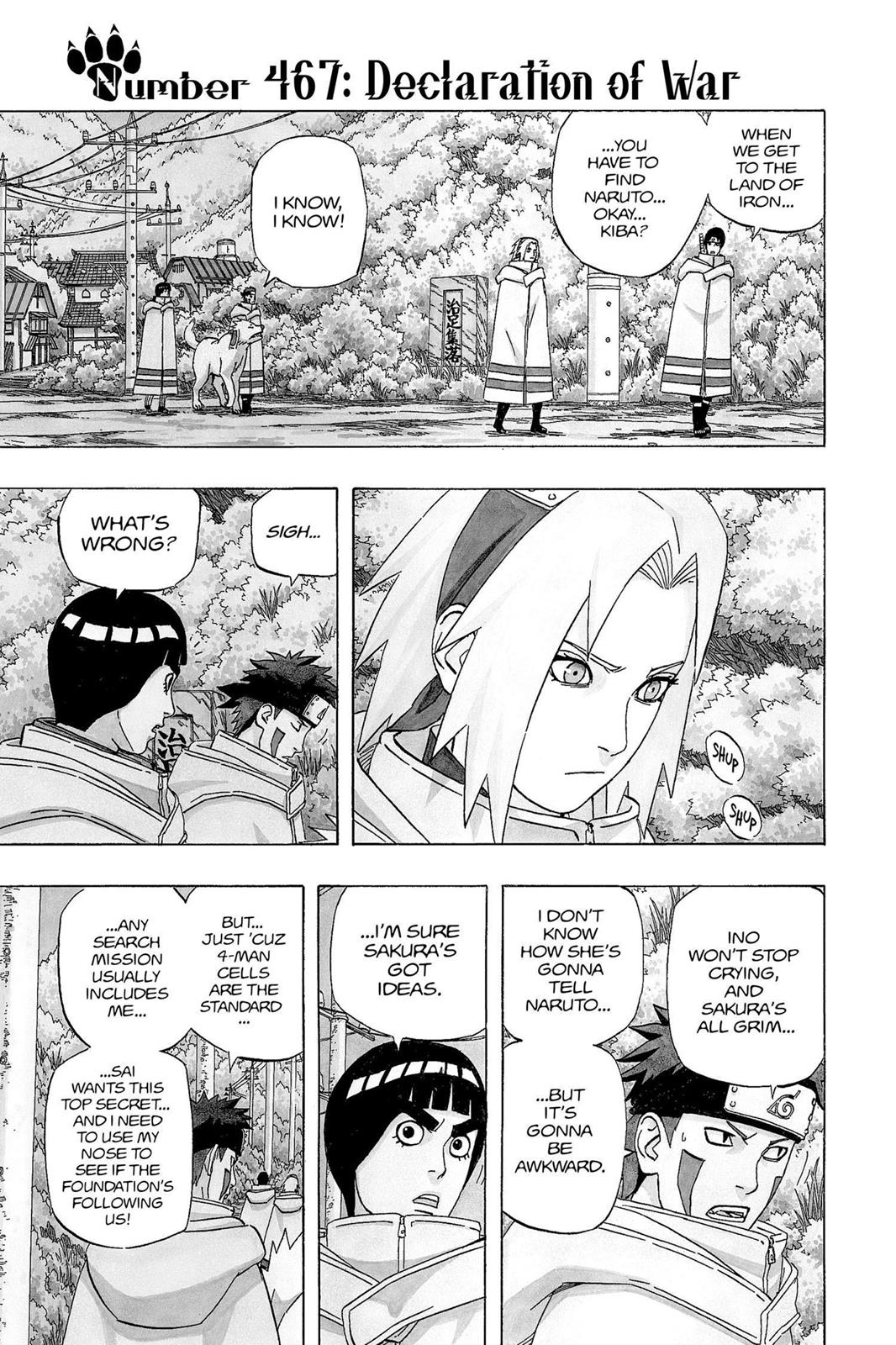 Naruto, Chapter 467 image 001
