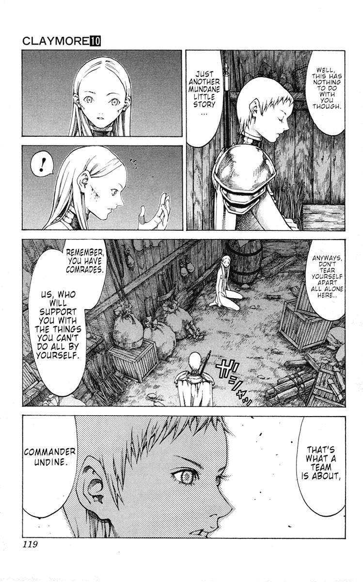 Claymore, Chapter 55 image 017