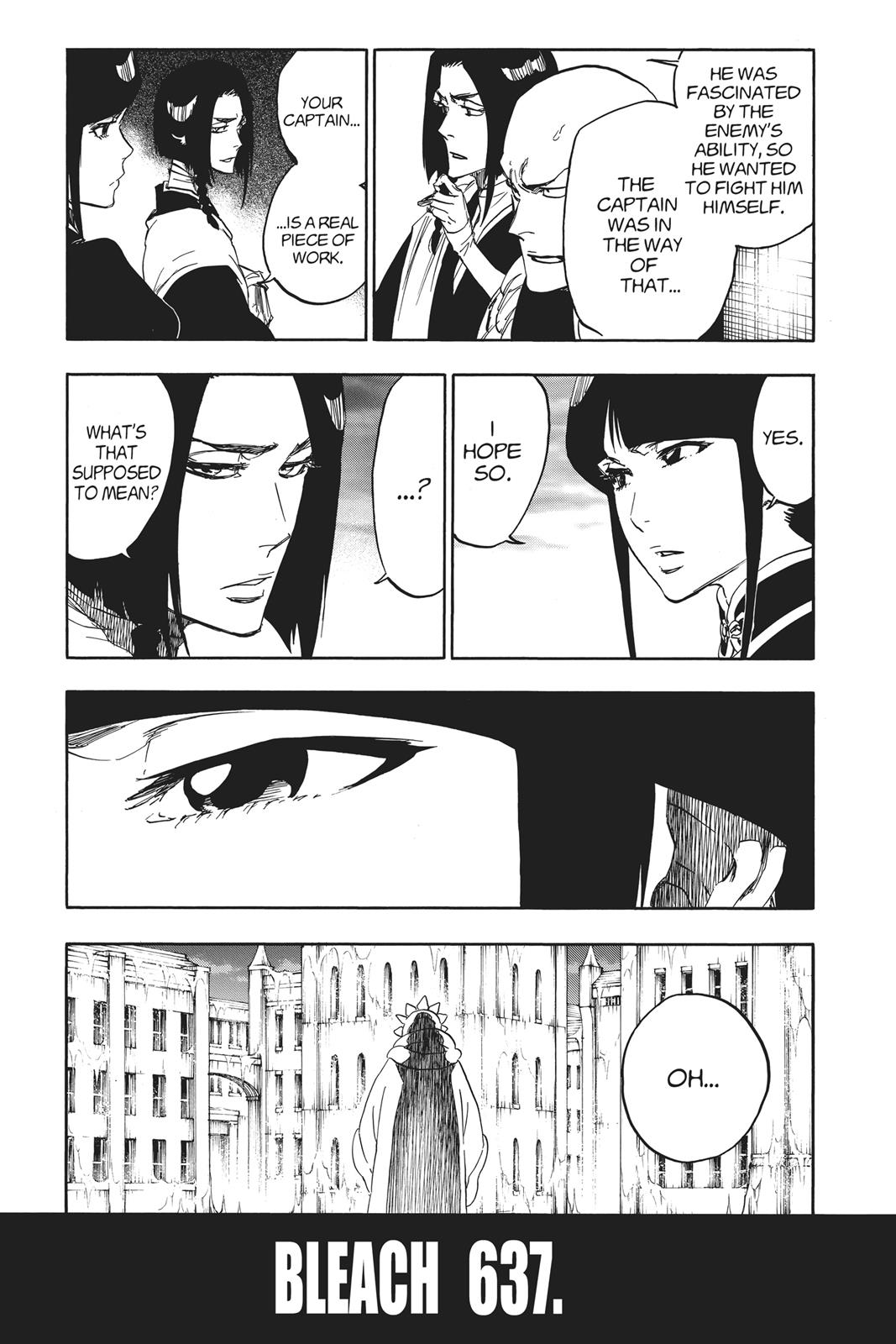 Bleach, Chapter 637 image 003