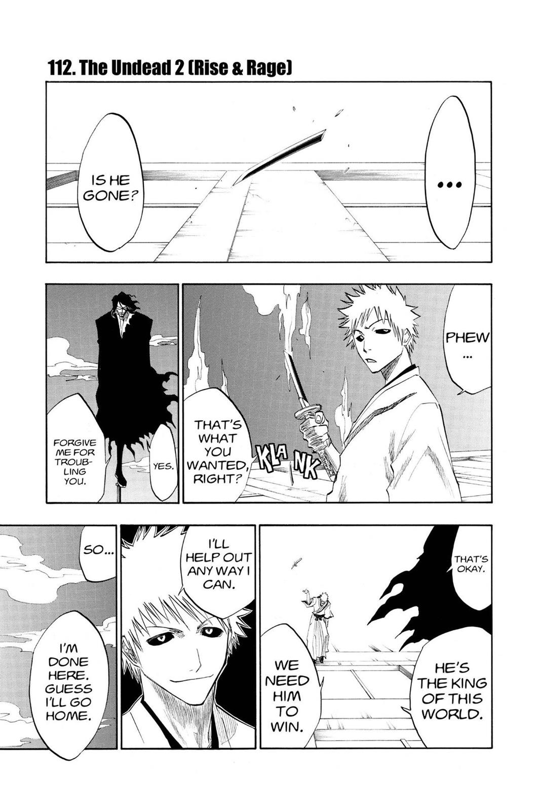 Bleach, Chapter 112 image 001