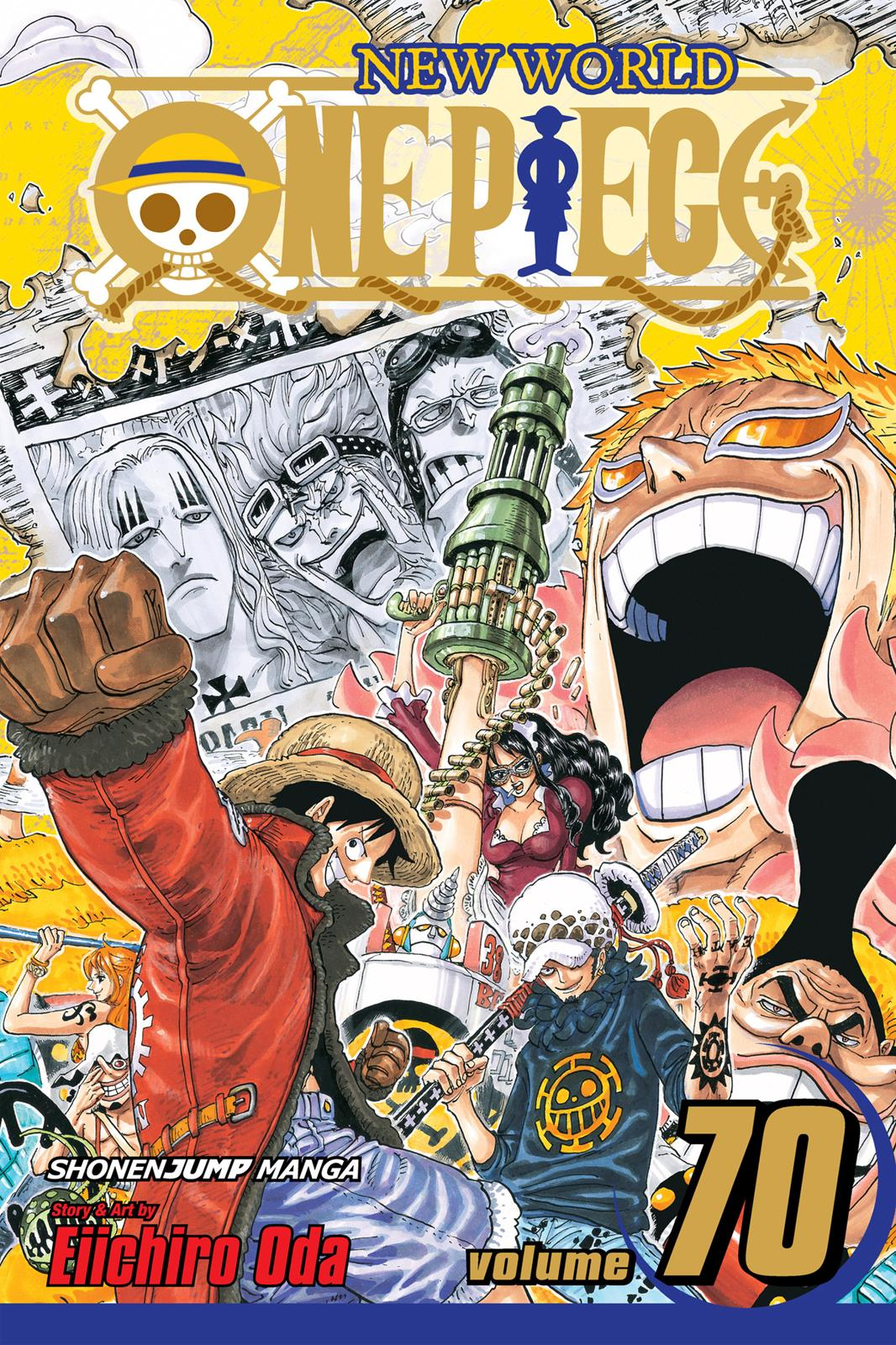 One Piece, Chapter 691 image 001
