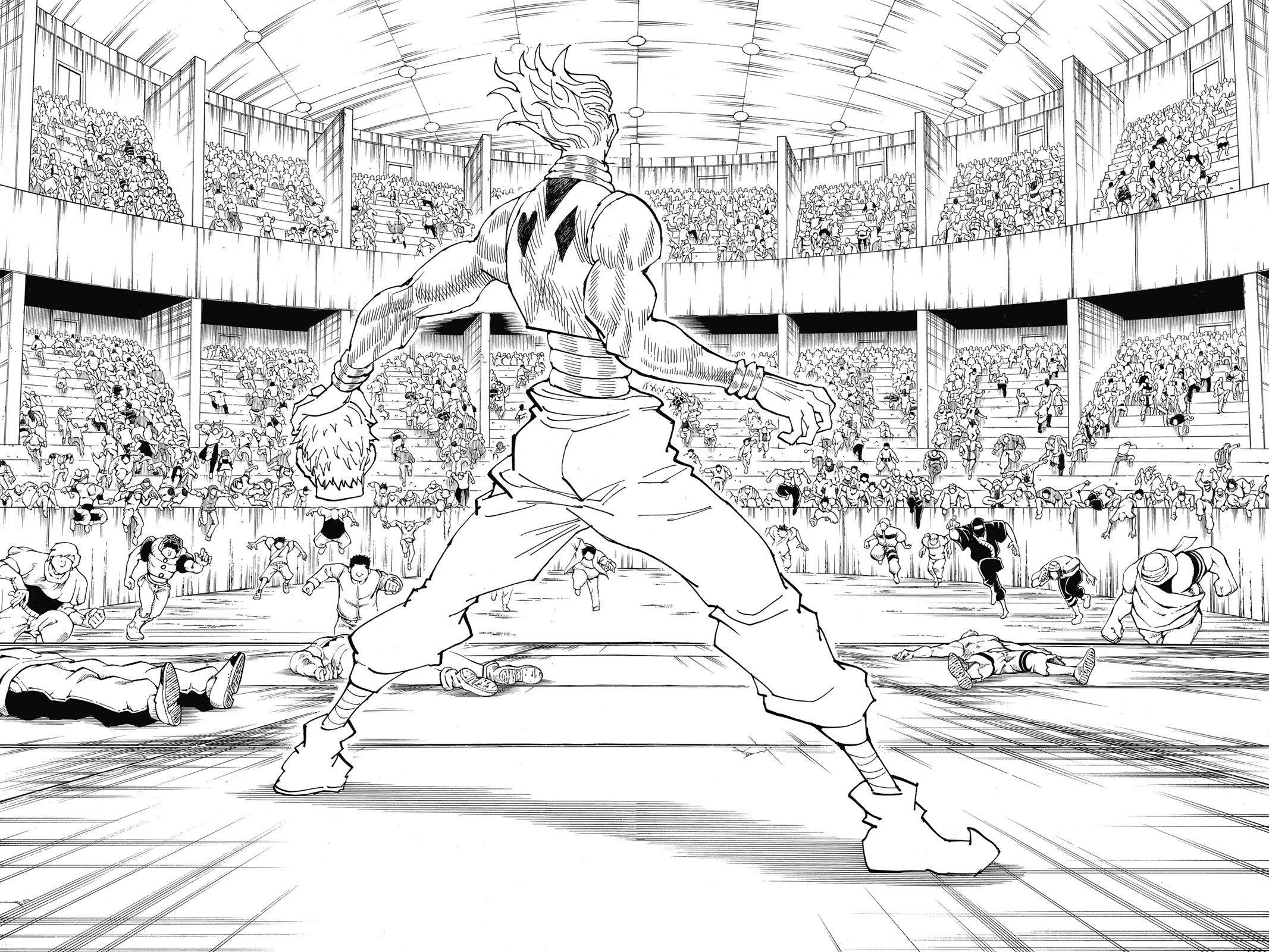 Hunter X Hunter, Chapter 355 image 008