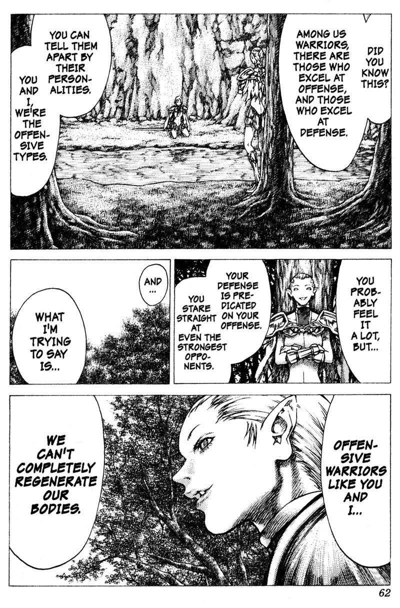 Claymore, Chapter 35 image 027