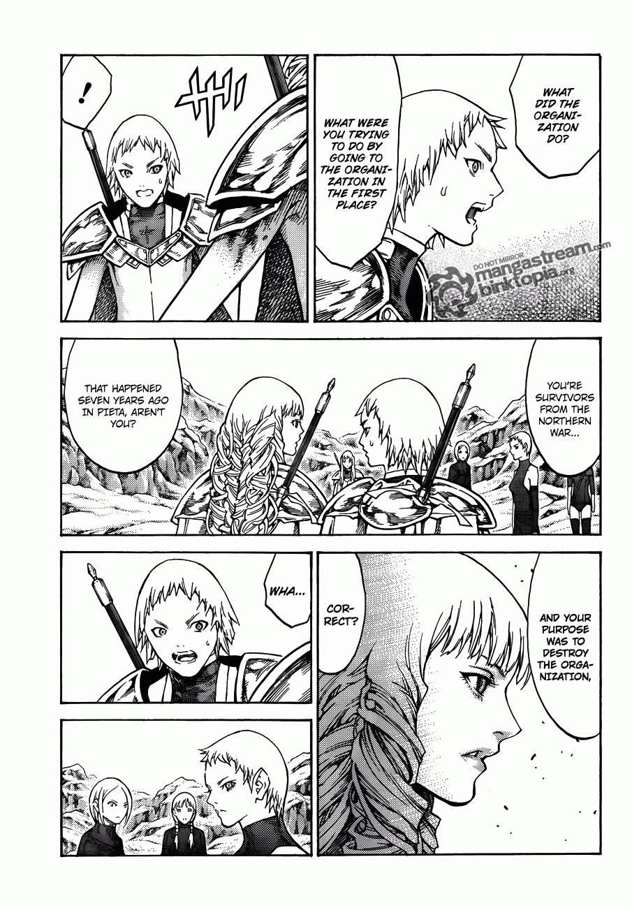 Claymore, Chapter 112 image 027