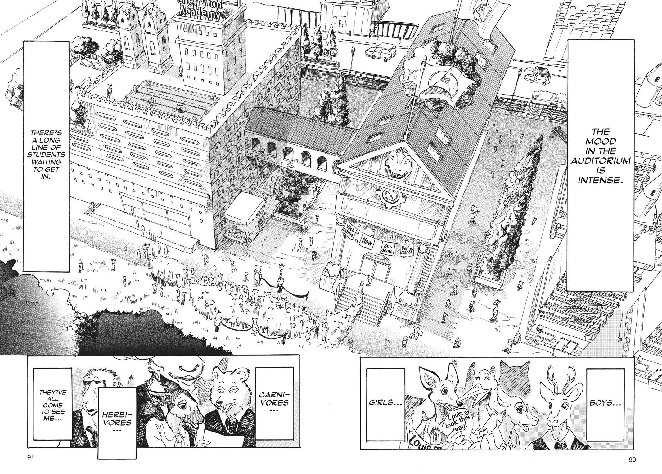 Beastars Manga, Chapter 12 image 002