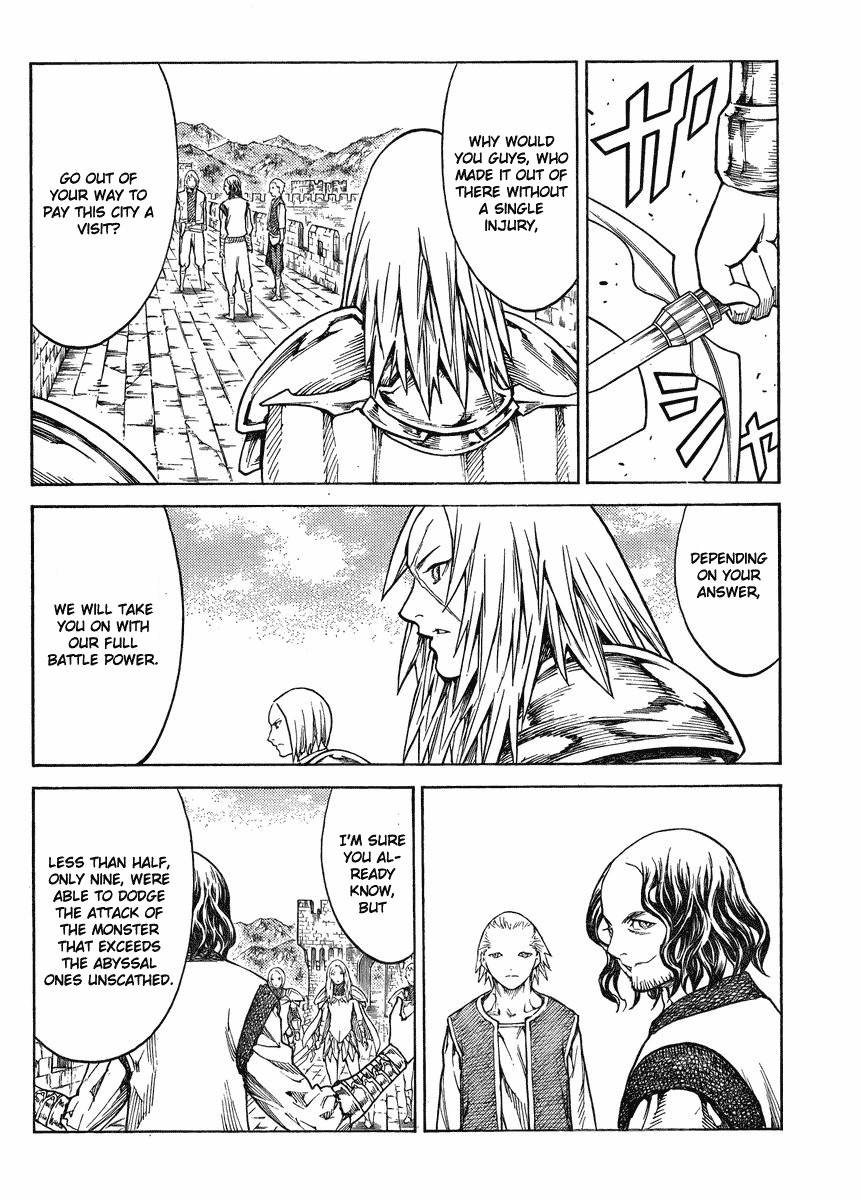 Claymore, Chapter 132 image 010