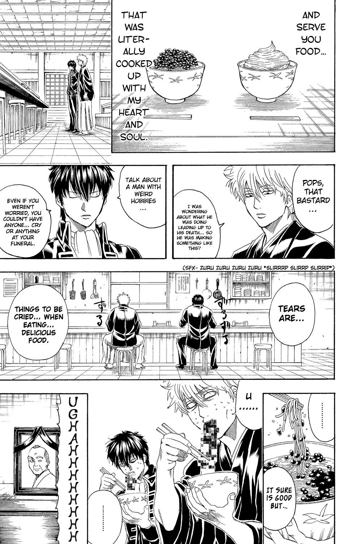 Gintama Chapter, 317 image 019