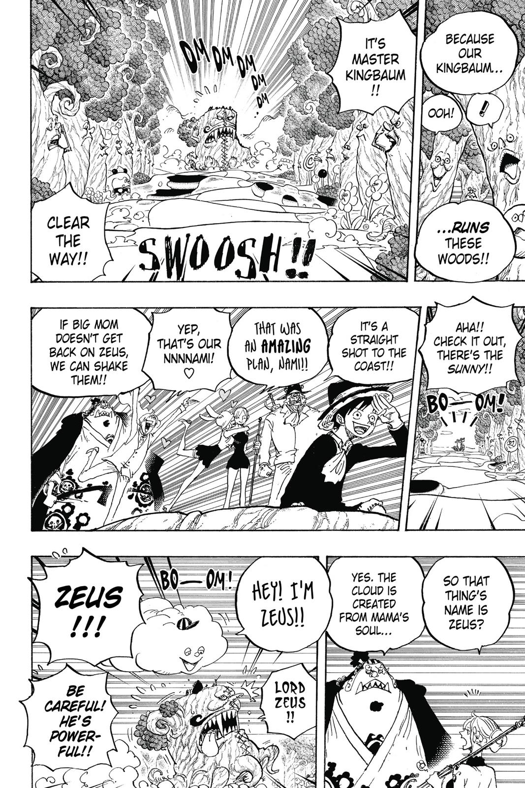 One Piece, Chapter 874 image 009