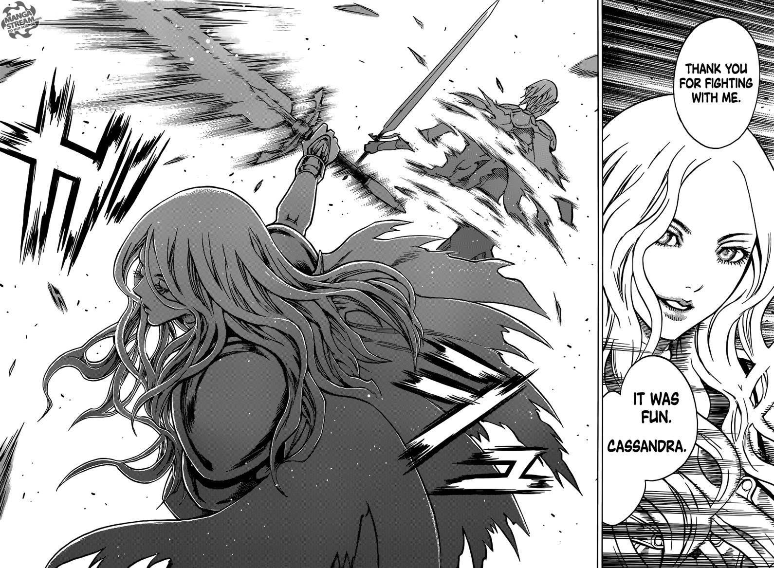 Claymore, Chapter 151 image 027