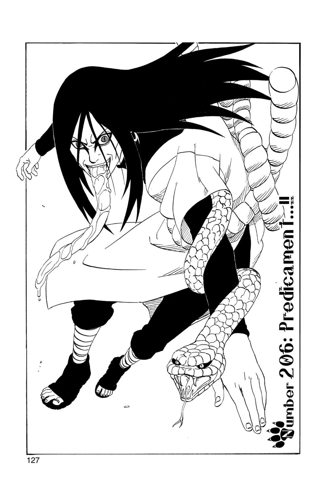 Naruto, Chapter 206 image 001