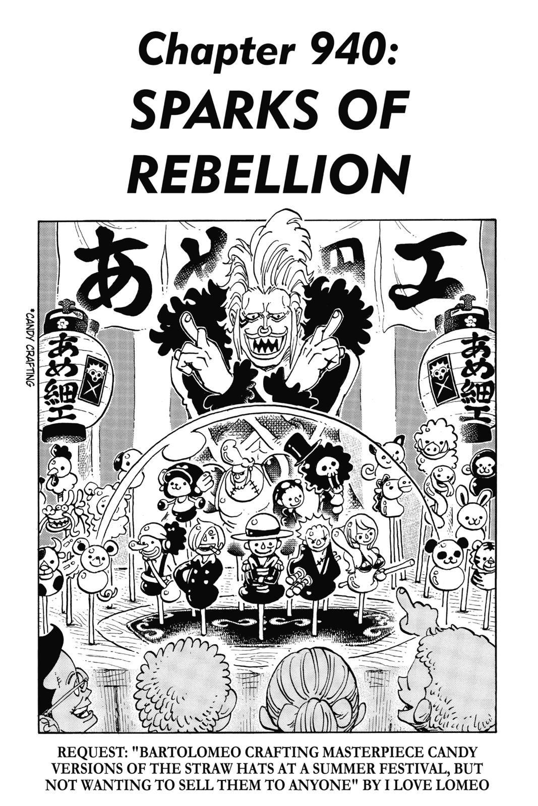 One Piece, Chapter 940 image 001